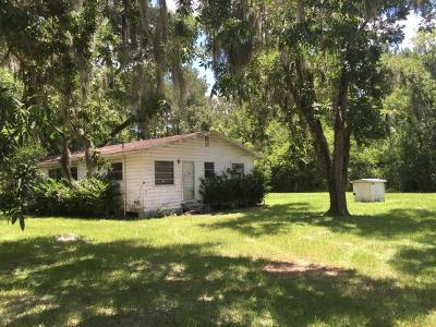 Macclenny Single Family Home For Sale: 5454 Woodlawn Rd