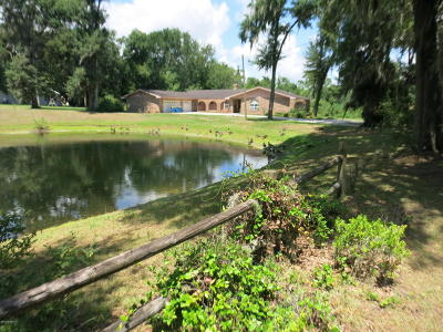 Jacksonville Single Family Home For Sale: 6261 North Whispering Oaks
