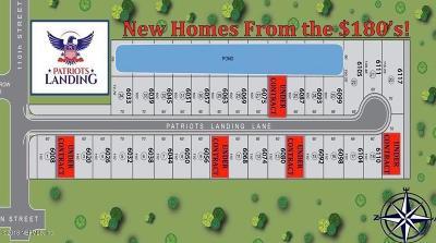 Jacksonville Single Family Home For Sale: 1 Patriots Landing Ln
