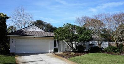 Atlantic Beach Single Family Home For Sale: 1802 Seminole Rd