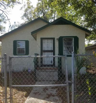 Jacksonville FL Single Family Home For Sale: $42,000