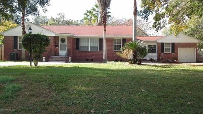 Jacksonville Single Family Home For Sale: 4936 Ortega Blvd