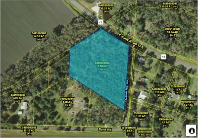 St. Johns County Residential Lots & Land For Sale: Byrd Rd