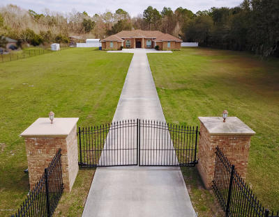 Jacksonville Single Family Home For Sale: 11551 Bridges Rd