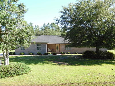 Glen St. Mary Single Family Home For Sale: 7755 County Road 139b