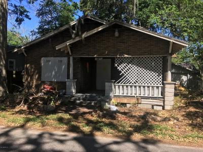 Single Family Home For Sale: 589 E 60th St
