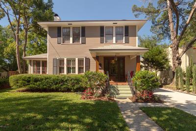 Jacksonville Single Family Home For Sale: 1326 Avondale Ave