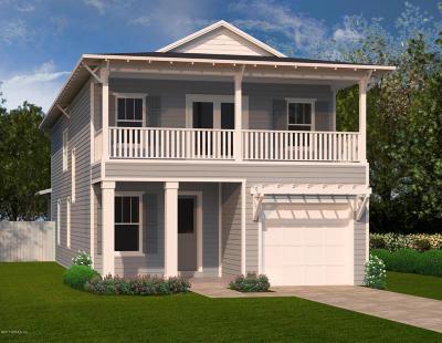 Neptune Beach Single Family Home For Sale: 224 Davis St