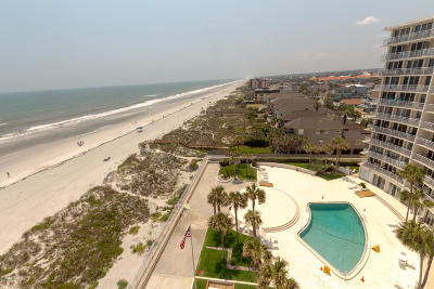 Jacksonville Beach Condo For Sale: 1601 Ocean Dr South #805