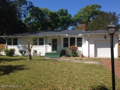 Jacksonville Single Family Home Contingent Take Backup: 1658 Bartram Rd
