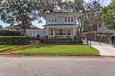 Jacksonville Single Family Home For Sale: 3012 Oak St