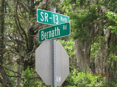 St Johns Residential Lots & Land For Sale: 2025 State Road 13