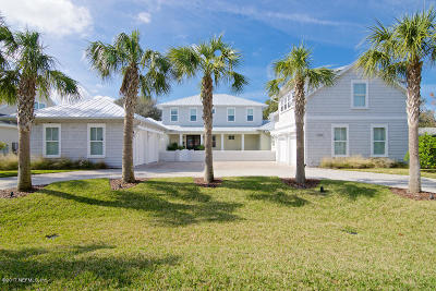Atlantic Beach, Jacksonville Bc, Neptune Beach, Crescent Beach, Ponte Vedra Bch, St Augustine Bc Single Family Home For Sale: 1360 East Coast Dr