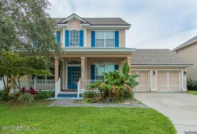 St Augustine Beach Single Family Home For Sale: 667 Sun Down Cir