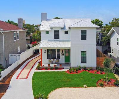 Neptune Beach Single Family Home For Sale: 311 Magnolia St