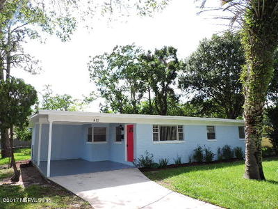 Atlantic Beach Single Family Home For Sale: 410 Skate Rd