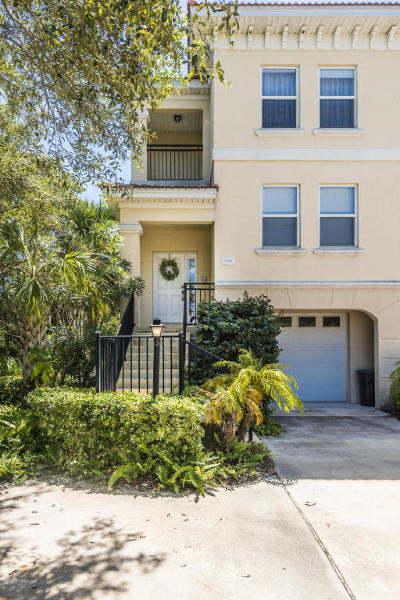 St Augustine Townhouse For Sale: 2301 Windjammer Ln