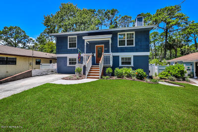 Atlantic Beach Single Family Home For Sale: 342 Seminole Rd