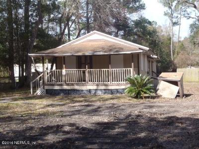 Duval County Single Family Home For Sale: 6615 Pickettville Rd
