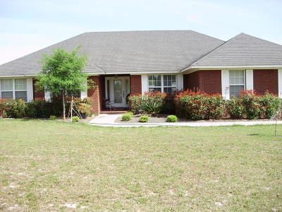 Glen St. Mary Single Family Home For Sale: 6965 Odis Yarborough Rd