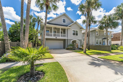 Atlantic Beach, Jacksonville Bc, Neptune Beach, Crescent Beach, Ponte Vedra Bch, St Augustine Bc Single Family Home For Sale: 679 Ocean Blvd