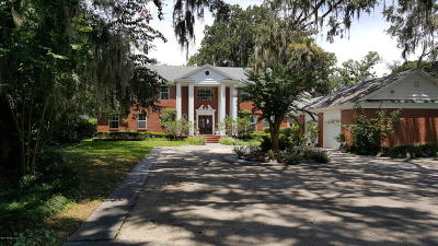 Jacksonville Single Family Home For Sale: 3600 River Hall Dr
