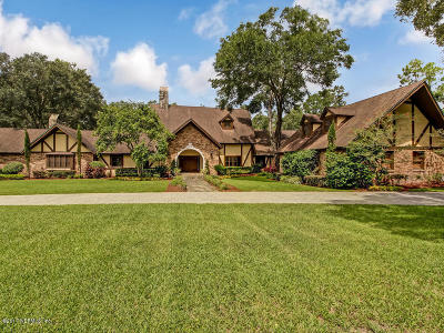 Jacksonville Single Family Home For Sale: 8038 James Island Trl