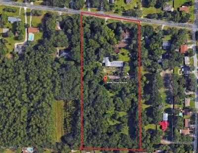 Jacksonville Single Family Home For Sale: 8458 Lenox Ave