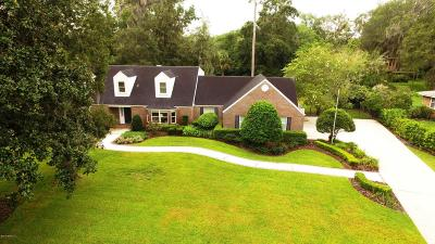 Jacksonville Single Family Home For Sale: 3736 Rubin Rd