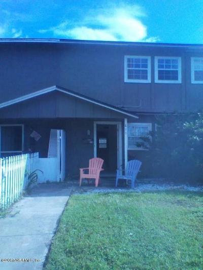 Atlantic Beach Townhouse For Sale: 818 Cavalla Rd