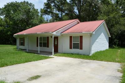 Starke Single Family Home For Sale: 646 North St Clair St