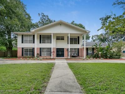 Jacksonville Single Family Home For Sale: 2834 Scott Mill Ter