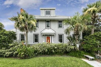 Atlantic Beach, Jacksonville Bc, Neptune Beach, Crescent Beach, Ponte Vedra Bch, St Augustine Bc Single Family Home For Sale: 291 Beach Ave