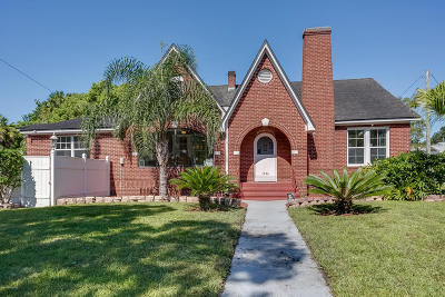 Jacksonville Single Family Home For Sale: 1606 Belmonte Ave