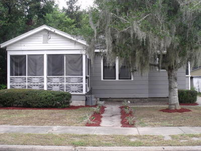 Jacksonville Single Family Home For Sale: 7242 Barberie St