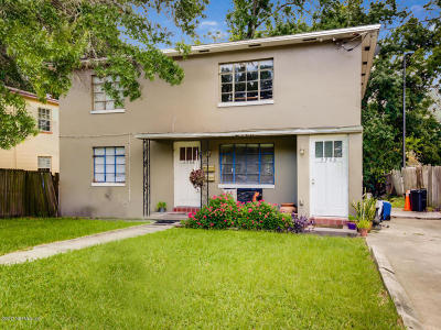 Jacksonville Single Family Home For Sale: 2964 Downing St