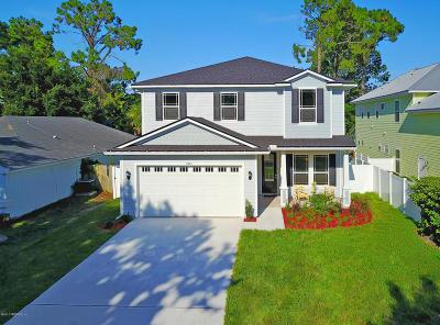 Jacksonville Beach Single Family Home For Sale: 3881 Poinciana Blvd