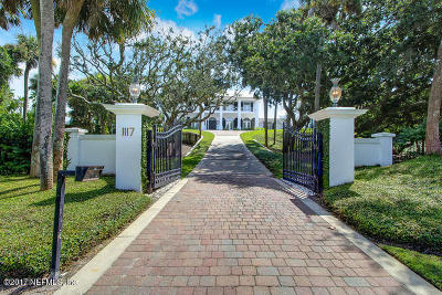 Single Family Home For Sale: 1117 Ponte Vedra Blvd