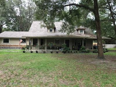 Clay County Single Family Home For Sale: 4765 Hedgehog St