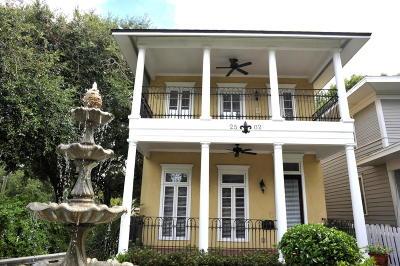 Jacksonville Single Family Home For Sale: 2502 Post St
