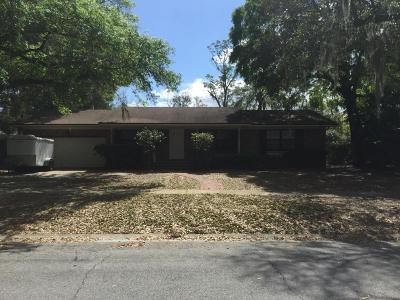 Duval County Single Family Home For Sale: 6648 Fincannon Rd