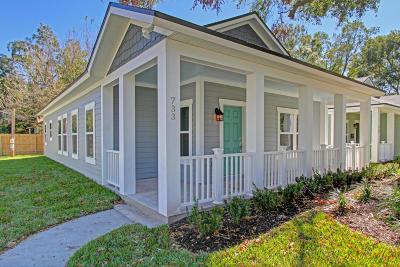 Jacksonville Single Family Home For Sale: 733 Ralph St