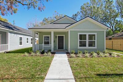 Jacksonville Single Family Home For Sale: 737 Ralph St