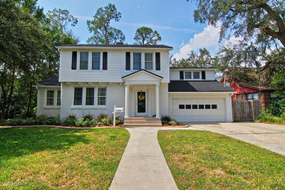 Jacksonville Single Family Home For Sale: 1418 Palmer Ter