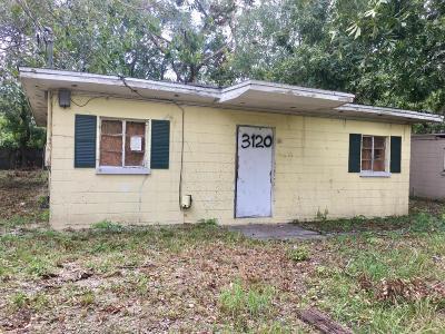 Jacksonville Single Family Home For Sale: 3120 Neff St
