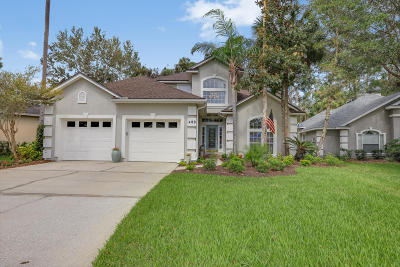 Ponte Vedra Beach Single Family Home For Sale: 489 Big Tree Rd