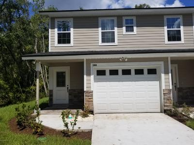 Orange Park Townhouse For Sale: 388 Old Jennings Rd