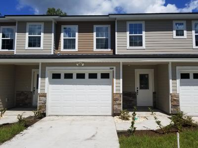 Orange Park Townhouse For Sale: 380 Old Jennings Rd