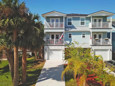 Jacksonville Beach Townhouse For Sale: 209 7th Ave South