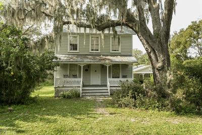 Jacksonville Single Family Home For Sale: 11626 Brady Rd